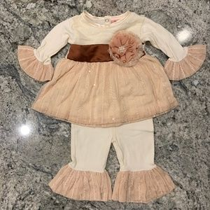 Purrfect Thanksgiving Outfit 3-6 mo